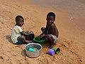 Cleaning dishes (Lake Malawi).jpg