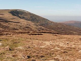 Mullaghcleevaun Mountain in Wicklow, Ireland
