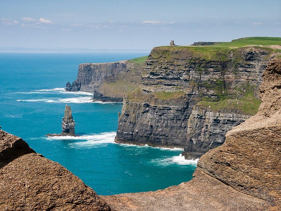 Cliffs of Moher bei bestem Wetter (2007)