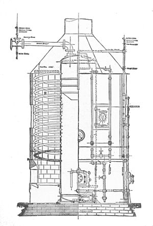 Spiral watertube boiler - Climax boiler