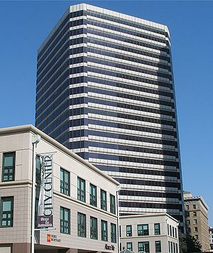 Oakland City Center - The Clorox Building, viewed from 12th Street