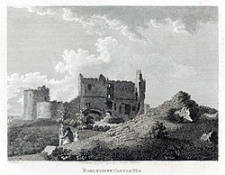 The castle in the 1790s