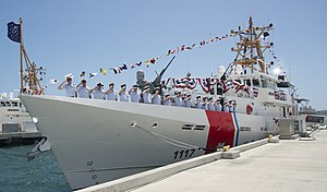 Coast Guard commissions 17th fast response cutter, USCGC Donald Horsley, in San Juan, Puerto Rico -a