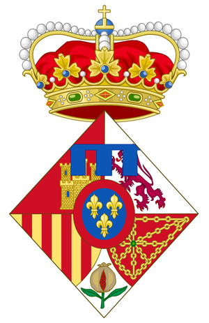 Leonor, Princess of Asturias - Image: Coat of Arms of Leonor, Princess of Asturias 2014 2015