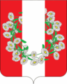 Coat of arms of Burakovski.png