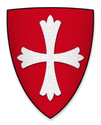Coat of arms of Eustace de Vescy, Lord of Alnwick Castle.png