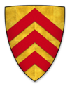 Coat of arms of Richard de Clare, Earl of Hertford.png