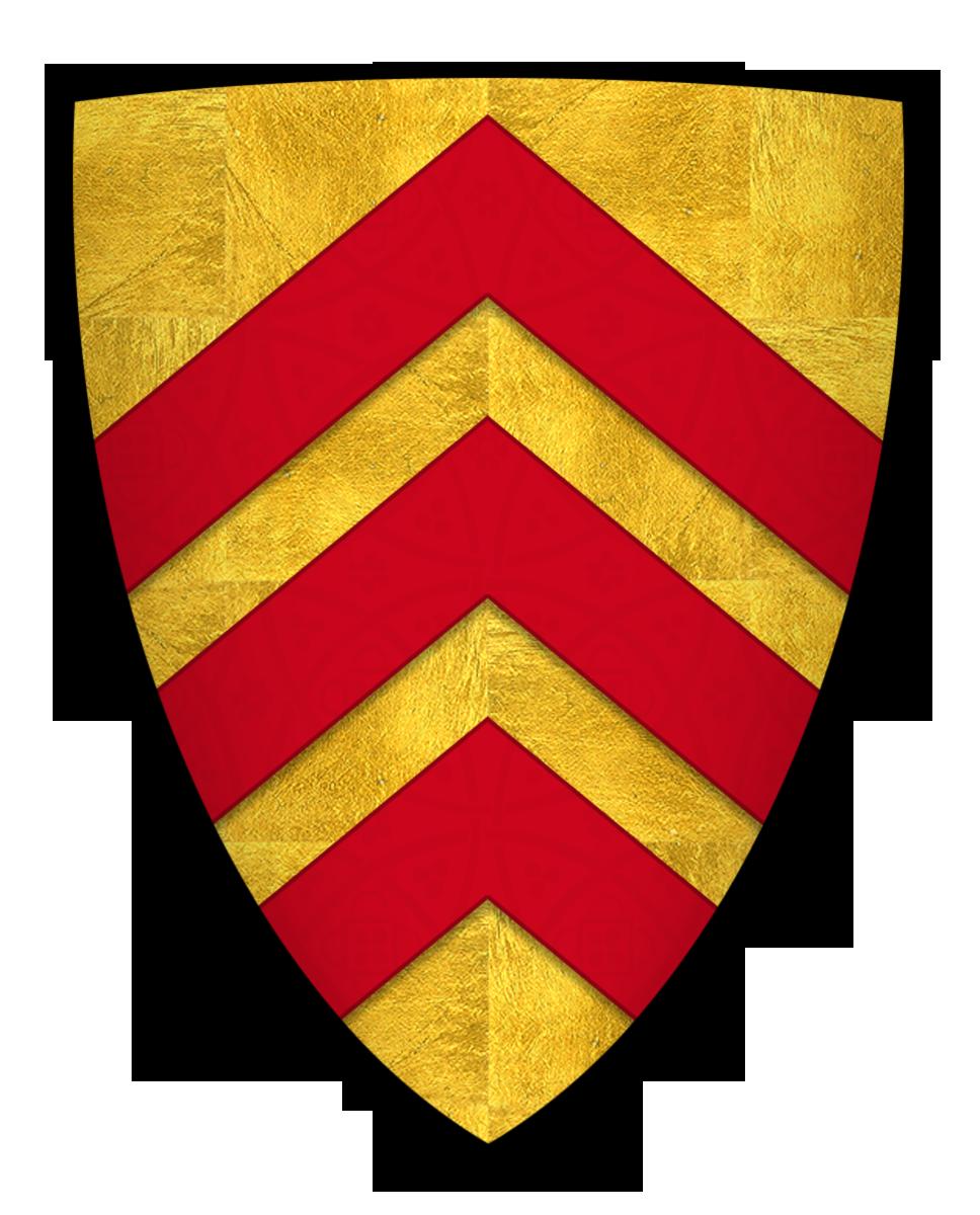 Coat of arms of Richard de Clare, Earl of Hertford