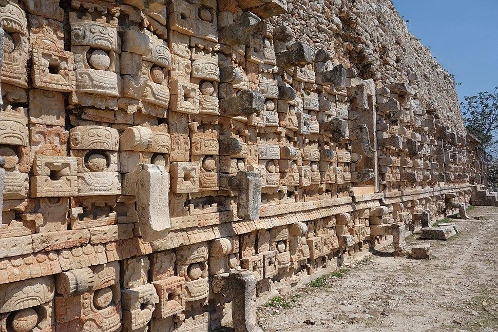 Codz Poop (detail) - Kabah, Maya archeological site in Yucat%C3%A1n
