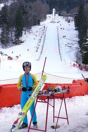 Le Tremplin Olympique du Mont - Le Mont