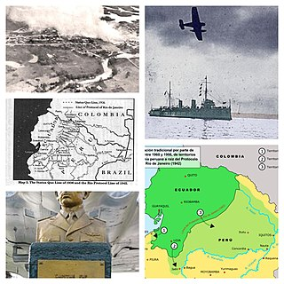 Ecuadorian–Peruvian War 1941 South American border conflict