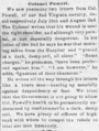 Colonel Powell good Wheeling Daily Intelligencer Aug 12 1863 Page 2.png