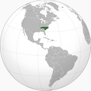 Province of Carolina - Image: Colonial Carolina