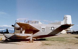 Columbia Aircraft Corporation - The third Columbia XJL-1 on display at the Pima Air Museum near Tucson, Arizona, in February 1993