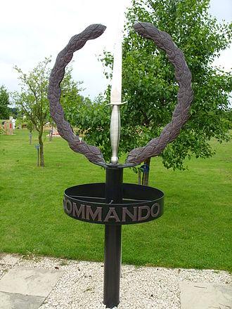 National Memorial Arboretum - Image: Commandos memorial at National Memorial Arboretum