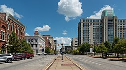 Commerce St, Downtown Montgomery 20160713 1