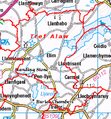 Community map,Tref Alaw, Anglesey.png