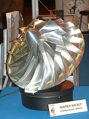 Centrifugal compressor - Centrifugal compressor impeller