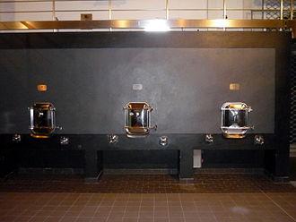 Pomerol AOC - Concrete fermentors used at Château l'Evangile.