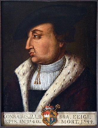 Conrad von Bibra - Painting of Conrad von Bibra