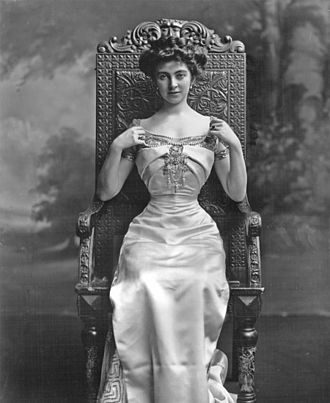 Constance Lewis - The Duchess in 1907