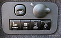 Controls for 3rd Row Seat of Lincoln MKT (5872081420).jpg