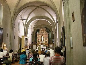 Convent of Bosco ai Frati - Interior of the church