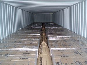 Dunnage - Application of dunnage bags in container