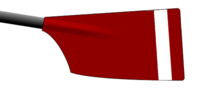 Image showing the rowing club's blade colours