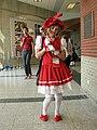 Cosplayer of Sakura Kinomoto at Animethon 20080808a.jpg