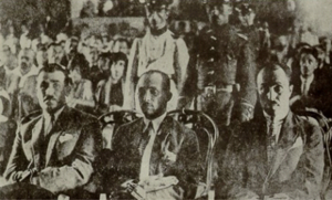 Ziya Hurşit - Ziya Hurşit and his accomplices in court