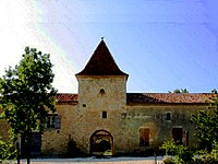 Courties Porte fortifiée de la bastide.jpg