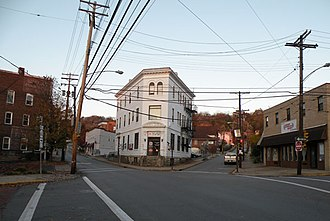 Crafton, Pennsylvania - intersection of East Crafton, Noble and Dinsmore Avenues in Crafton, PA.