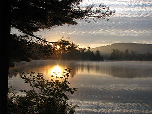 Clifton, New York - Cranberry Lake, Black Duck Hole