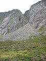 Creag an Dubh Loch - the Central Gully - geograph.org.uk - 556269.jpg