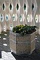 Crematorium planters City of London Cemetery and Crematorium, Newham, England 2.jpg