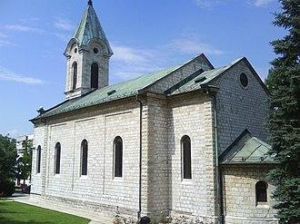 All Saints Church, Livno - Image: Crkva Svih Svetih Livno 00489
