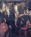 Crocifissione e santi - O. De Ferrari.png