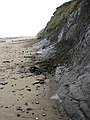Crumbling cliff base - geograph.org.uk - 1034422.jpg
