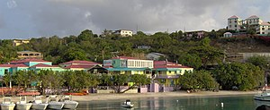 Cruz Bay, U.S. Virgin Islands - Image: Cruz Bay, Saint John; United States Virgin Islands