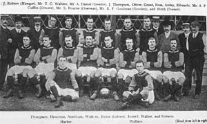 History of Crystal Palace F.C. - The Crystal Palace squad of 1905–06.