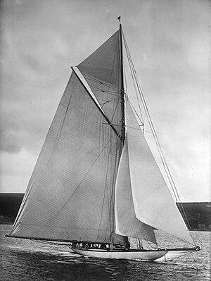 Shamrock III - Image: Cutter Shamrock III (Yacht, 1903) 01