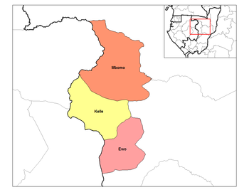 Ewo District in the region