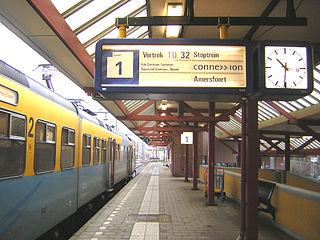 Ede-Wageningen railway station railway station