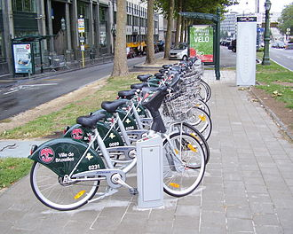 Villo! - Bicycles of the former Cyclocity programme