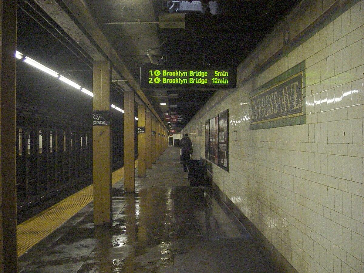 City Line Avenue >> Cypress Avenue station - Wikipedia