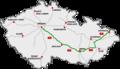 Czech Motorway map D1.png
