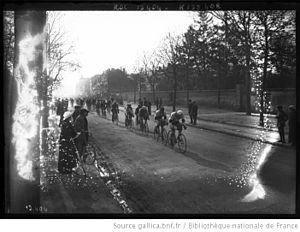 1911 Paris–Roubaix - Start of the 1911 Paris–Roubaix