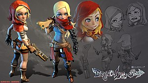 Dragon Fin Soup - Concept art for the main character