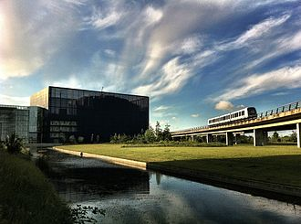 DR (broadcaster) - DR Byen, DR's headquarters in Copenhagen